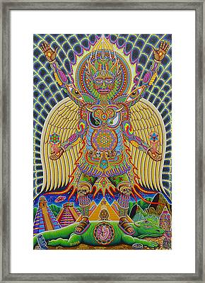 Neo Human Evolution Framed Print by Chris Dyer