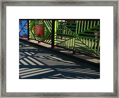 ...neo-metric... Framed Print by Charles Struse Sr