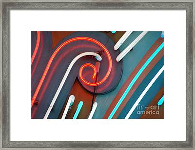 Neonics Framed Print by Dan Holm