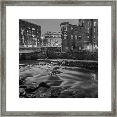 Neponset At Night Framed Print by Brian MacLean