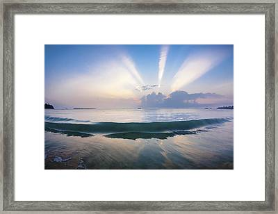 Neptune Step. Framed Print by Sean Davey