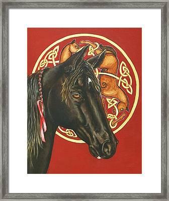 Nero Framed Print by Beth Clark-McDonal