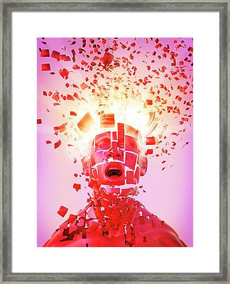 Nervous Breakdown Framed Print by Tim Vernon