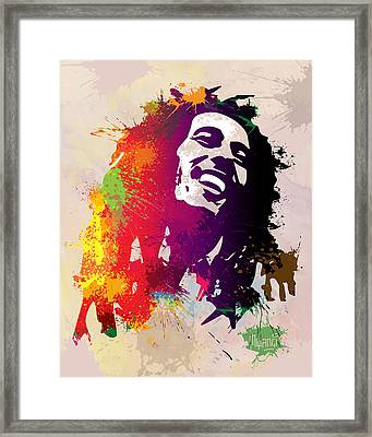 Nesta Robert  Framed Print by Anthony Mwangi