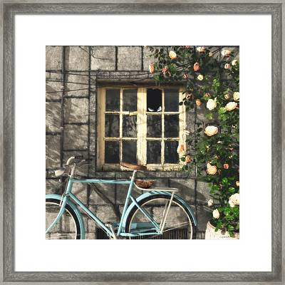 Nesting Framed Print by Cynthia Decker