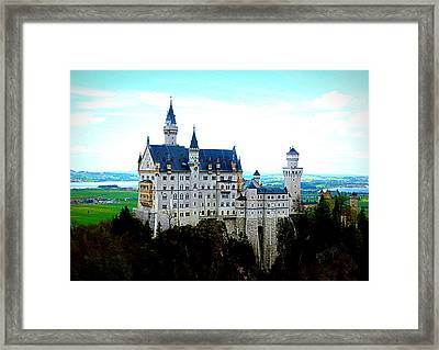 Neuschwanstein Castle  Framed Print by The Creative Minds Art and Photography