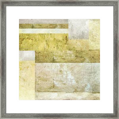 Neutral Study No. 2 Framed Print by Michelle Calkins