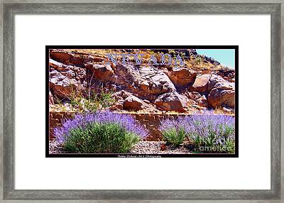 Nevada Framed Print by Bobbee Rickard