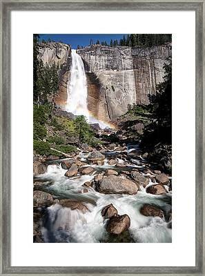 Nevada Falls Yosemite Framed Print by Chris Frost