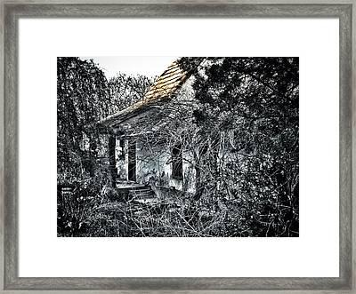Never Again... Framed Print by Marianna Mills