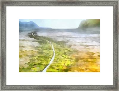 Never Ending Journey Framed Print by Dan Sproul