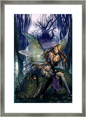 Neverland 00b Framed Print by Zenescope Entertainment