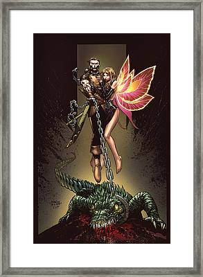 Neverland 01a Framed Print by Zenescope Entertainment