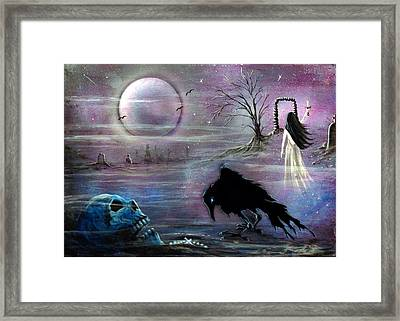 Nevermore Evermore  Framed Print by Christine Cholowsky