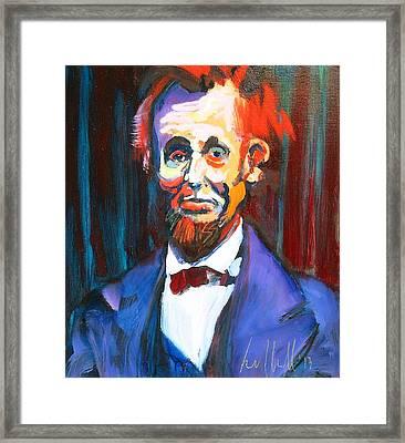 New Abe Framed Print by Les Leffingwell