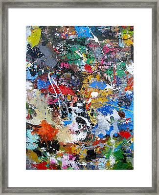New Abstract Framed Print by Melinda Saminski
