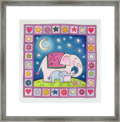 New Baby Framed Print by Cathy Baxter