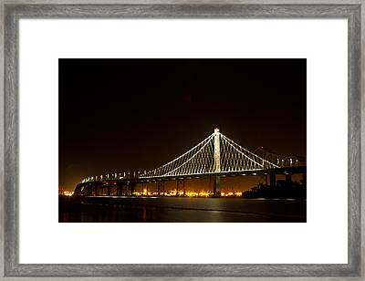 New Bay Bridge Framed Print by Bill Gallagher