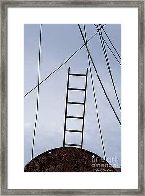 New Bedford Waterfront No. 7 Framed Print by David Gordon