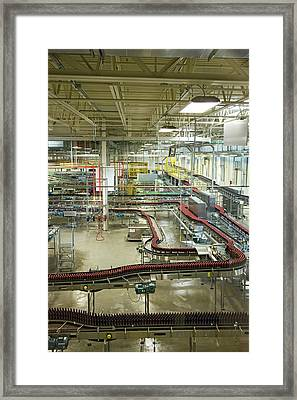 New Belgium Brewery Framed Print by Jim West