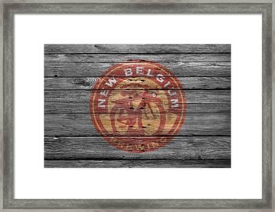 New Belgium Brewery Framed Print by Joe Hamilton