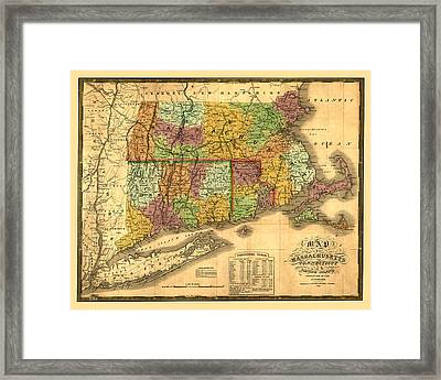 New England Framed Print by Gary Grayson