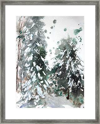 New England Landscape No.223 Framed Print by Sumiyo Toribe