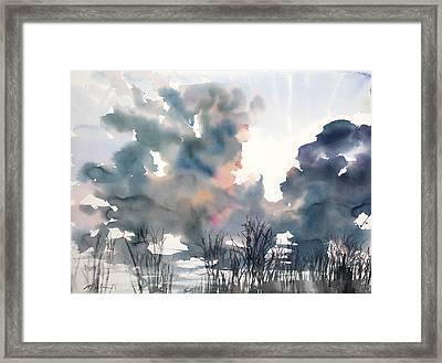 New England No.197 Framed Print by Sumiyo Toribe