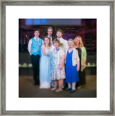 New Family Framed Print by Ken Beatty