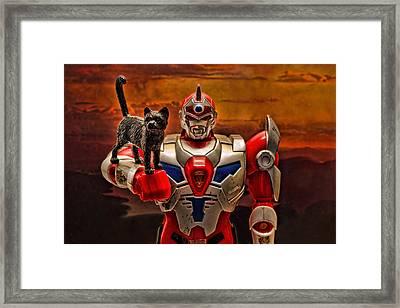 New Friend Framed Print by Jeff  Gettis