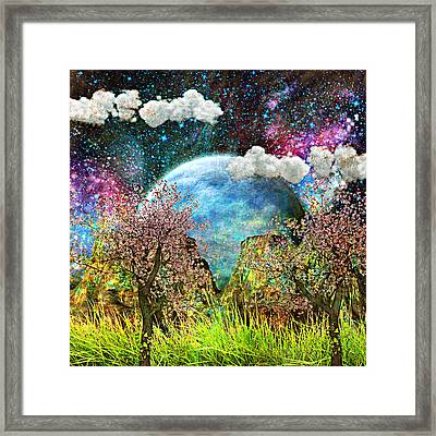 New Frontier Framed Print by Ally  White