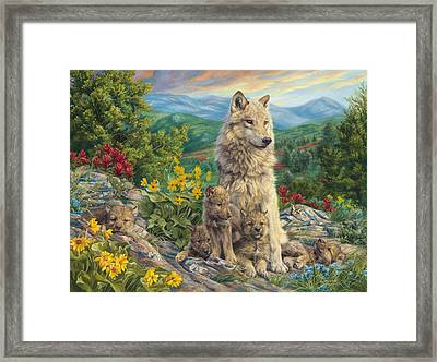 New Generation Framed Print by Lucie Bilodeau