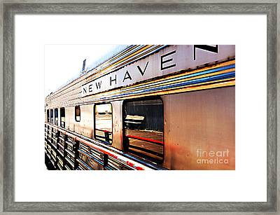 New Haven Framed Print by Nancy E Stein
