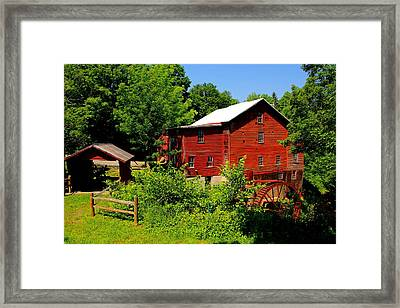 New Hope Mill Framed Print by Dave Files