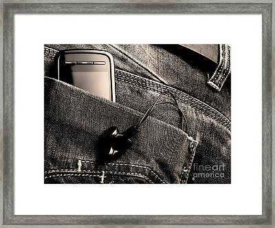 New Jeans Generation Framed Print by Sinisa Botas