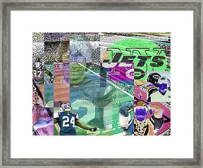 New Jet City Framed Print by Jimi Bush