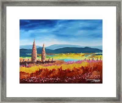 New Land Framed Print by Andrew Sanan