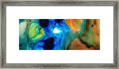 New Life - Abstract Landscape Art Framed Print by Sharon Cummings