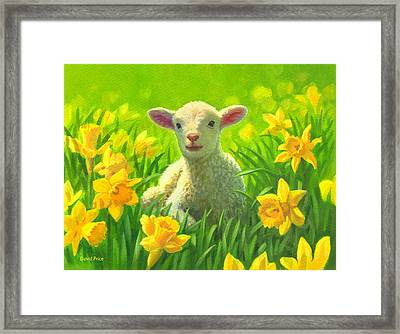 New Life In Spring Framed Print by David Price