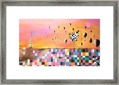 New Mexican Wind Framed Print by AnnCharlotte Tavolacci
