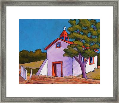 New Mexico Church Framed Print by Candy Mayer