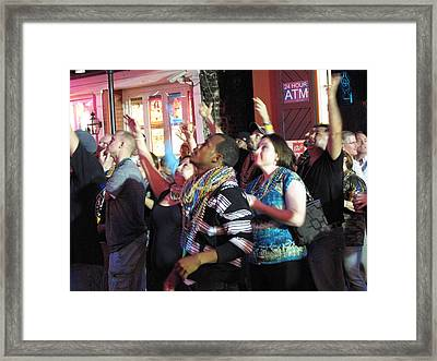 New Orleans - City At Night - 121224 Framed Print by DC Photographer