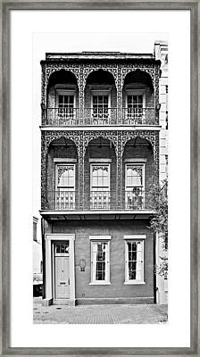 New Orleans - City Of Iron Lace Framed Print by Christine Till