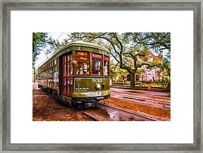 New Orleans Classique Oil Framed Print by Steve Harrington