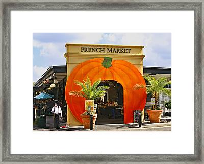 New Orleans French Market Framed Print by Christine Till
