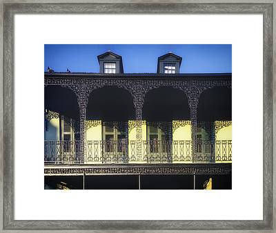New Orleans Ironwork Framed Print by Mountain Dreams