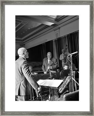 New Orleans Jazz Orchestra Framed Print by William Morgan