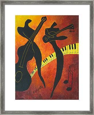 New Orleans Jazz Framed Print by Pamela Allegretto