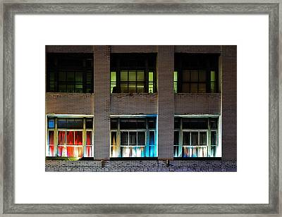 New Orleans Late Night Framed Print by Christine Till