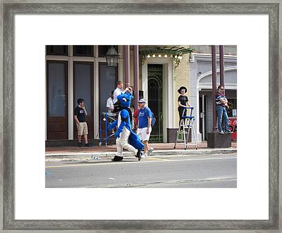 New Orleans - Mardi Gras Parades - 121255 Framed Print by DC Photographer